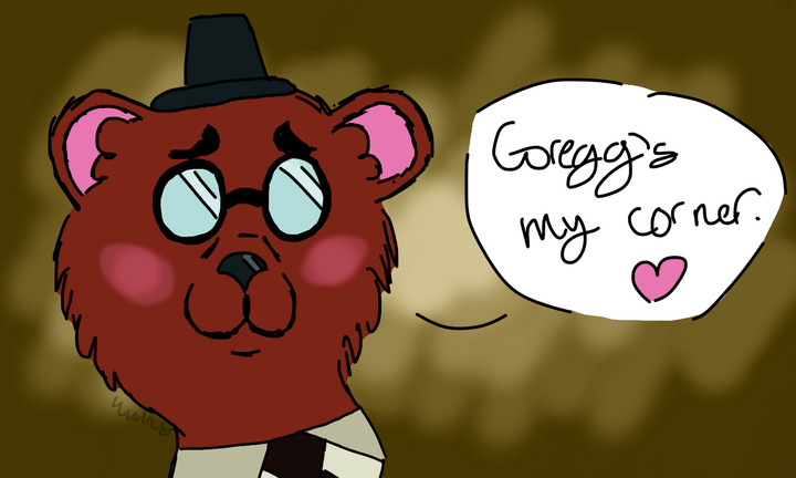 Lastly, Angus! This one probably isn't as good as the others, but my wrist was dead when I started it