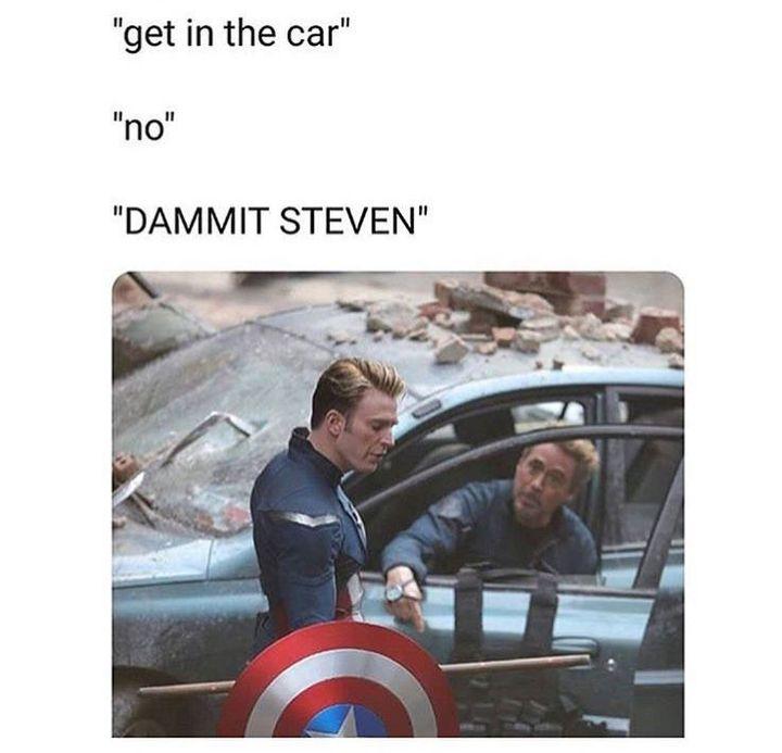 DAMMIT STEVEN