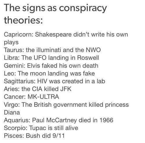 103 zodiac signs zodiac signs conspiracy theories wattpad