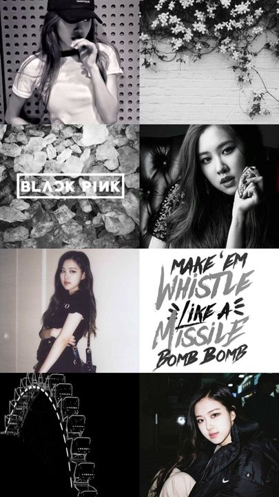 Kpop Aesthetic Collage Requests Closed Blackpink Rose Black