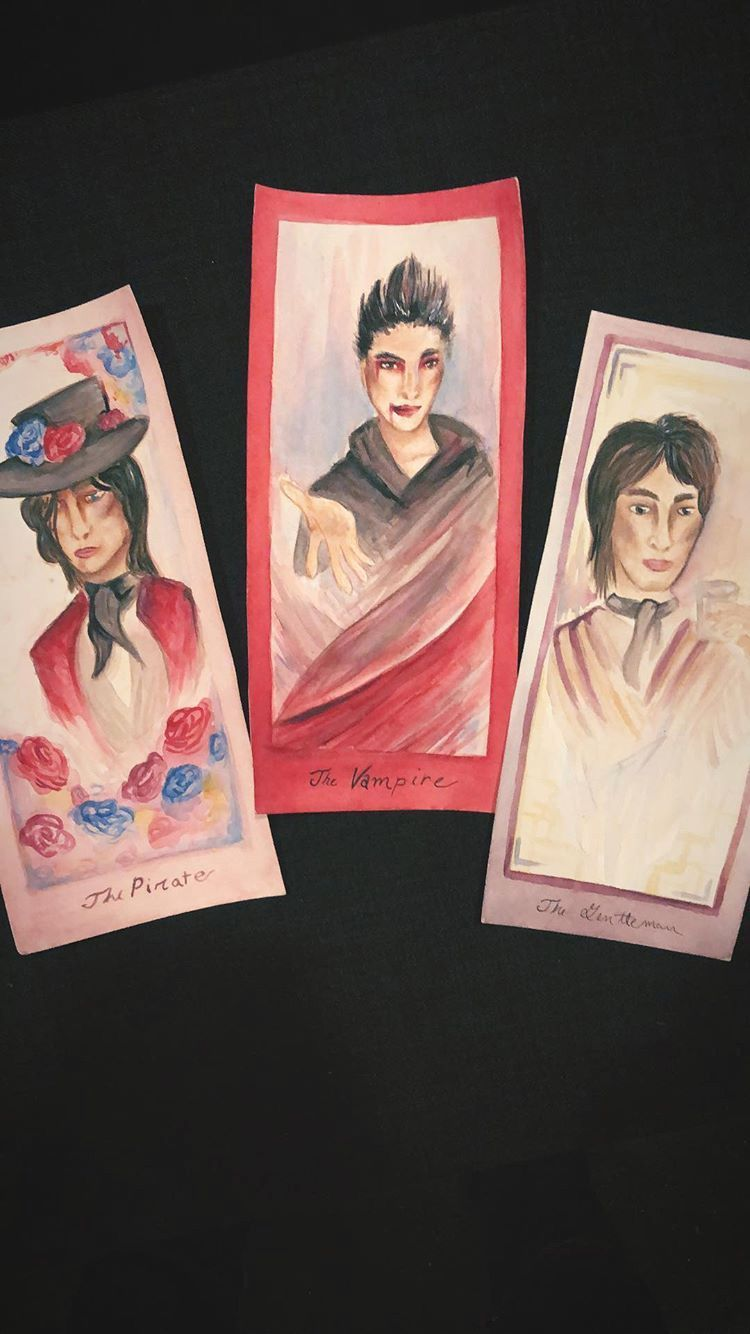 Here's some Palaye Royale fanart to take your mind of off that (it was posted a few minutes ago on their story)