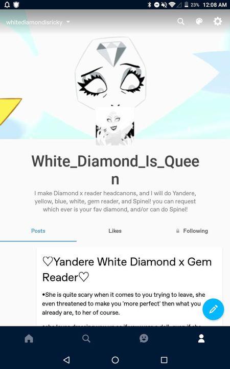 Spinel X Reader Oneshots White Diamond Tumblr Wattpad