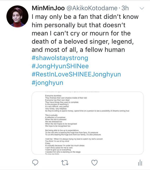 See Dead Jonghyun Jonghyun Died — BCMA