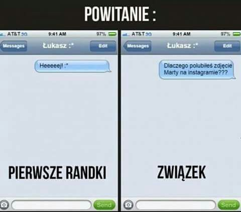 SMS-y edytuj randki