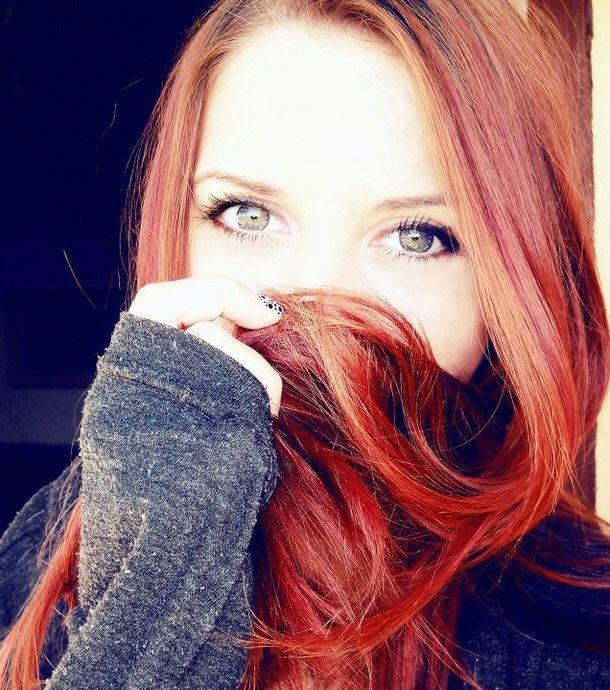 Фото рыжие девушки на аву