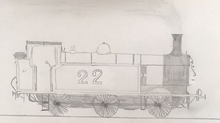 Railway Drawings - Daniel the Brown Engine - Wattpad