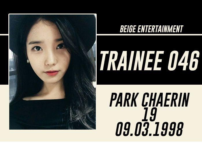 FULL NAME: Park Chaerin