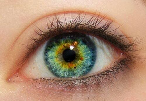 I actually think this is her eye