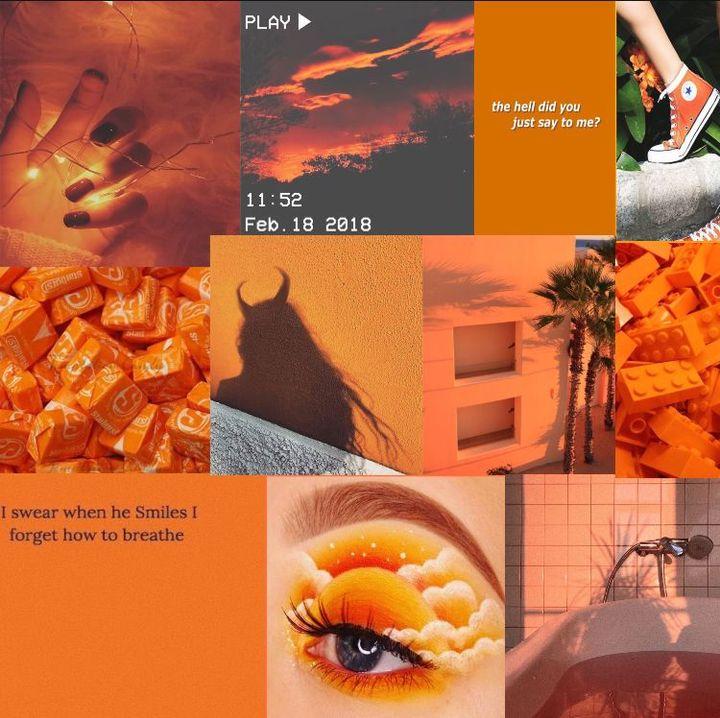 You asked for orange aesthetic, you got orange aesthetic