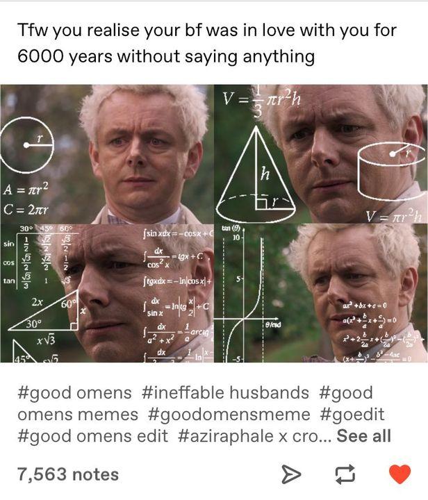 Good Omens Memes Seventy One Wattpad