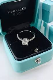 She stared down at the diamond ring sitting in black velvet and gasped