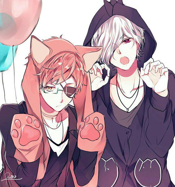 дьявольские возлюбленные картинки из аниме