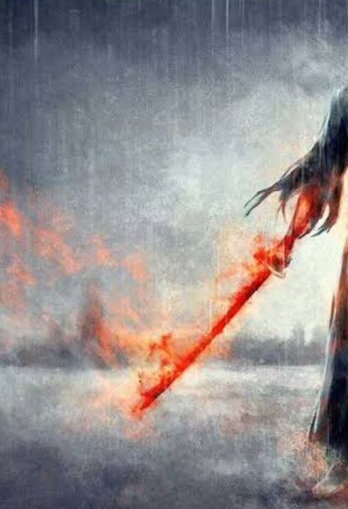 (I'm aware that this is Benihime but I just love the way it looks) Shikai :Incinerate Aoi honō