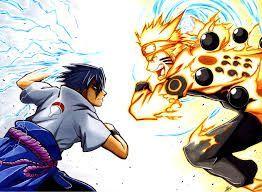 83+ Gambar Naruto Dan Sasuke Bertarung Paling Hist