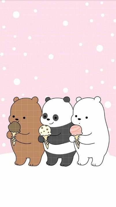 Home Screen Ice Bear We Bare Bears Wallpaper Hd Gambarku