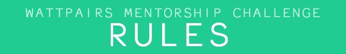 As a potential mentee here is what you need to know before entering the contest: