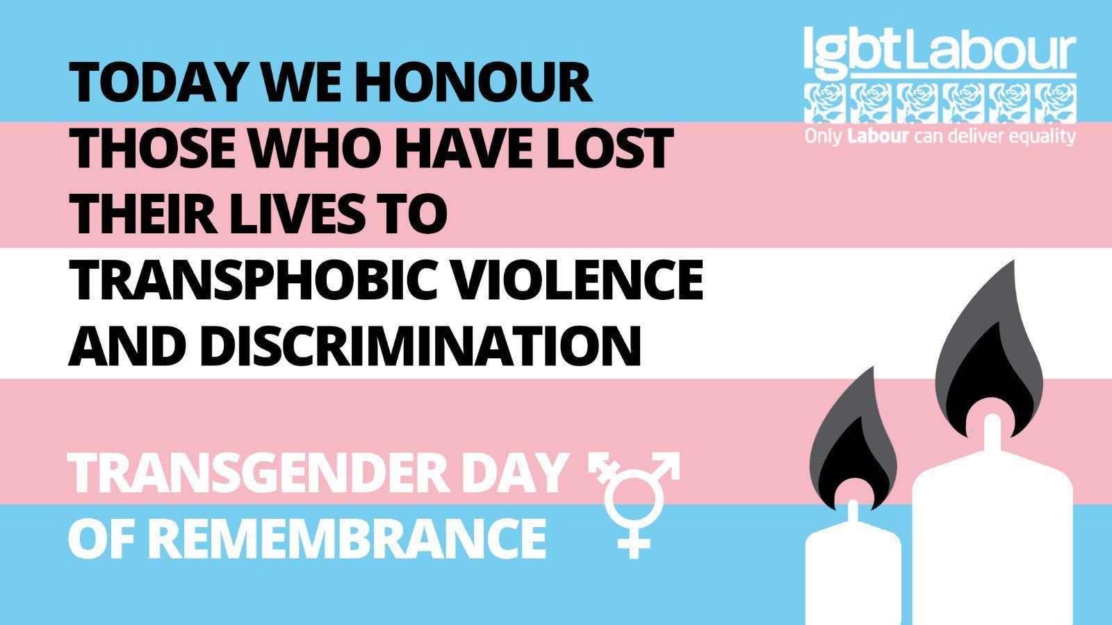 Today we remember all the trans people lost due to transphobic hate crimes, discrimination or who have taken their own lives 💗💙I hope these angels are all in a good place and know they are all being remembered today as strong inspirational peopl...