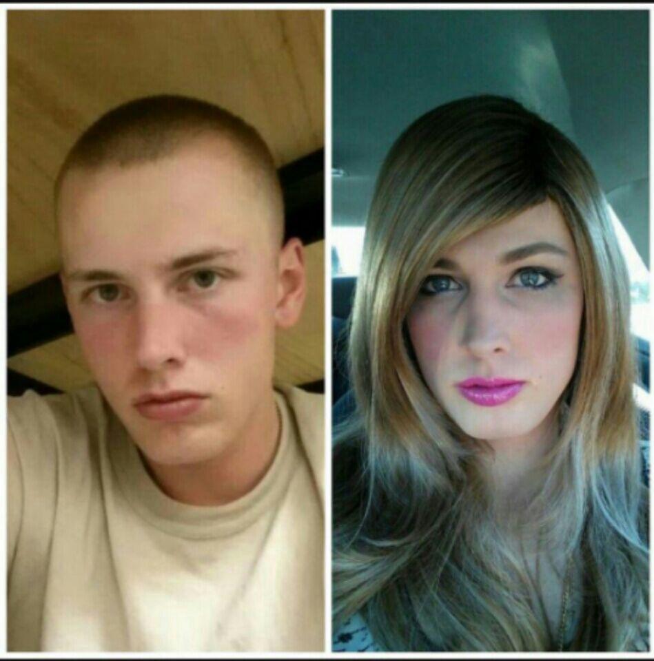 Трансы до и после коррекции пола