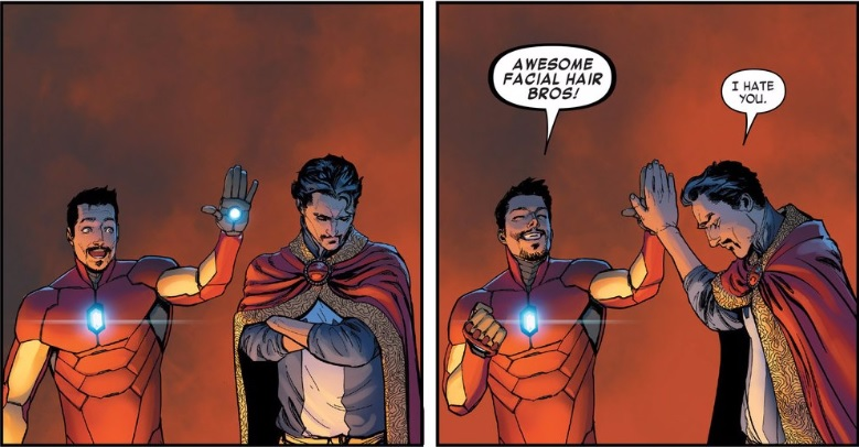 Doctor Strange X Reader - Jealousy suits you Stephen    or not