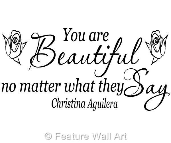 Music and Lyrics - Beautiful by Christina Aguilera - Wattpad