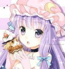 Ảnh anime girl tóc tím của bạn Shi_Kagamine_Panda Yr