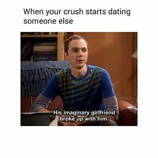 What do you do when your crush starts dating someone else