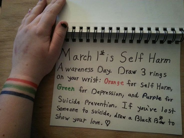 Drawing Lines On Your Wrist : Self harm projects awareness day mar wattpad