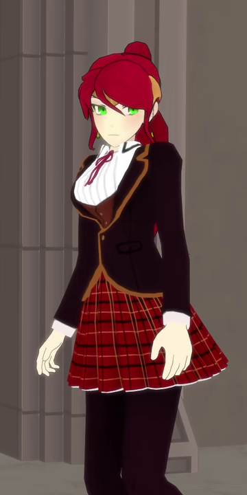 Pyrrha Rwby School Uniform