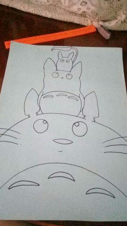 Mis Dibujos《 - Totoros - Mi Vecino Totoro - Wattpad