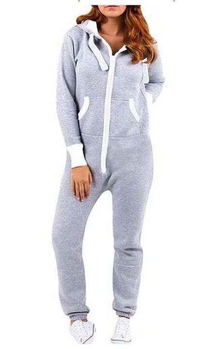 You sat down on the couch with a yawn, dressed in your warm and fuzzy pajama jumpsuit