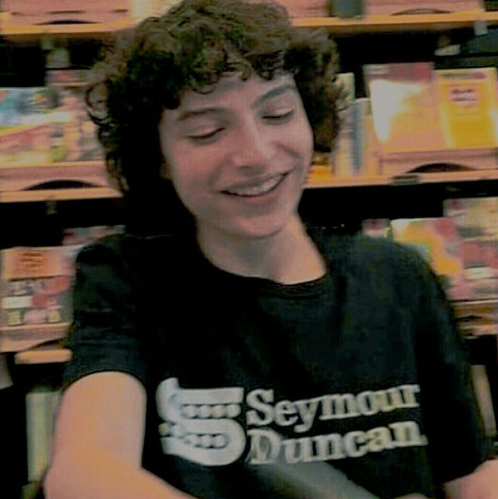 Finn Wolfhard18 years oldMember of an indie bandLives in Canada