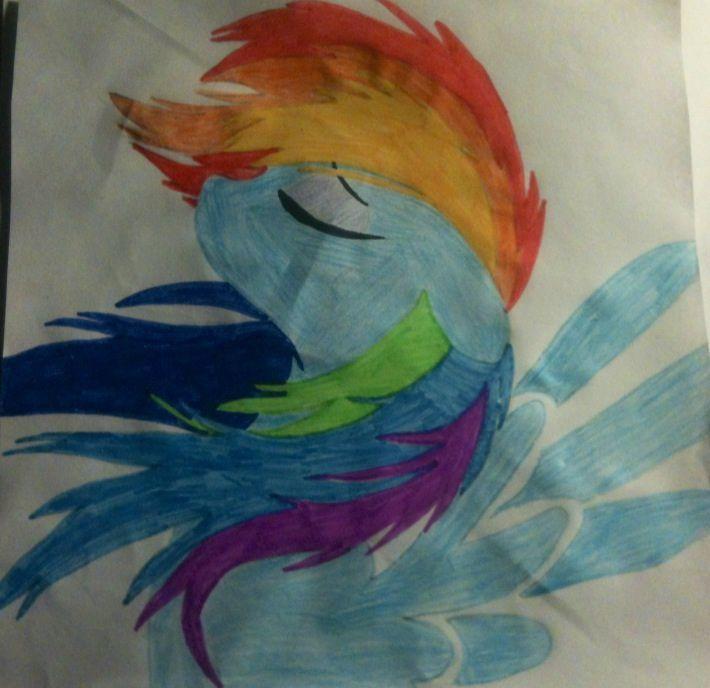 Dessins et concours un petit dessin pour un ami wattpad - My little pony en dessin anime ...