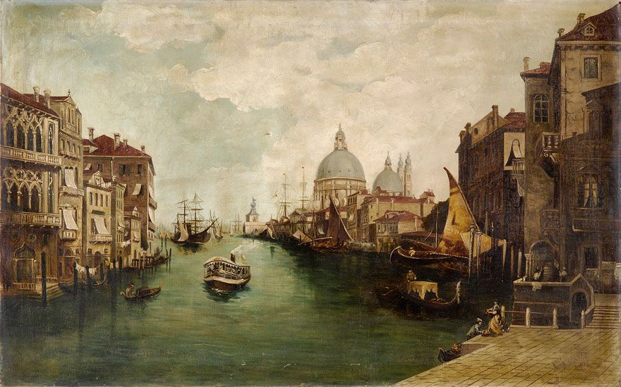 Edna, my aunt and I went on to Venice, Italy where the arts drenched every corner of every street and every building like its canals with their rowing men