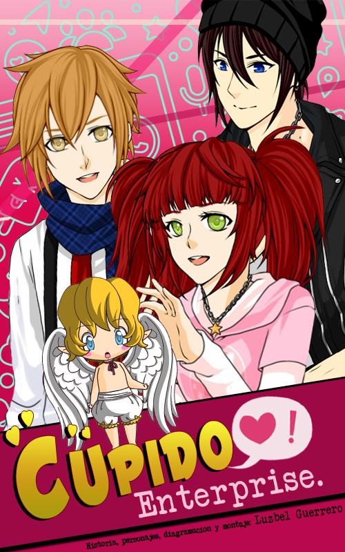 """""""Cupido Enterprise"""" es una historia corta ilustrada, realizada estilo manga y con muchos de esos detalles divinos que amamos de este tipo de historias"""