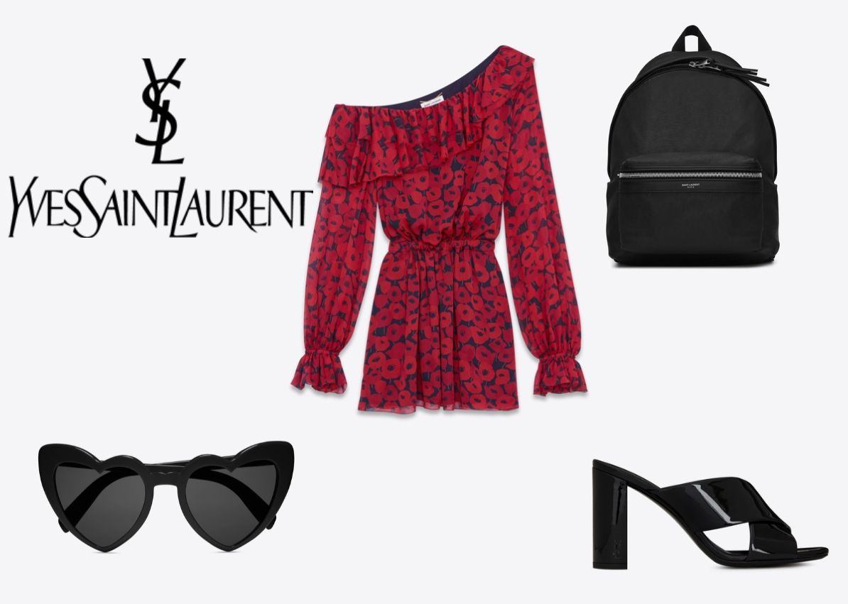 Harry's outfit: YSL (pictures from YSL