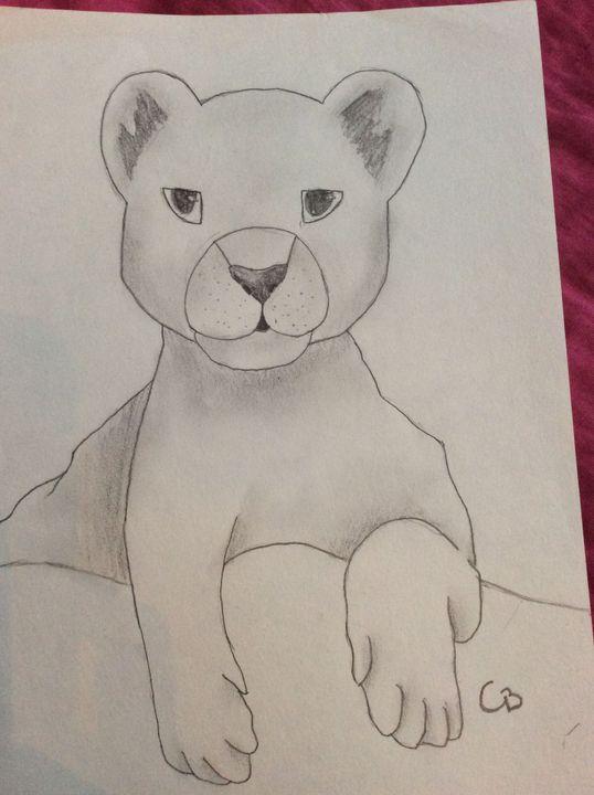 Mes œuvres Dessin Et Peinture En Pause Dessin 44 Lion