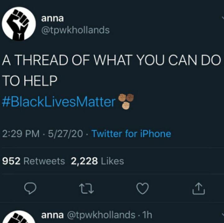 #blacklivesmatter ✊🏿✊🏾✊🏽✊🏼✊🏻