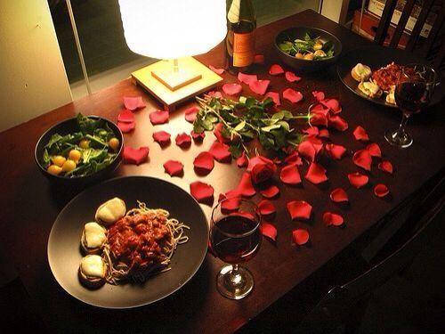 Что приготовить своей девушке на романтический ужин для