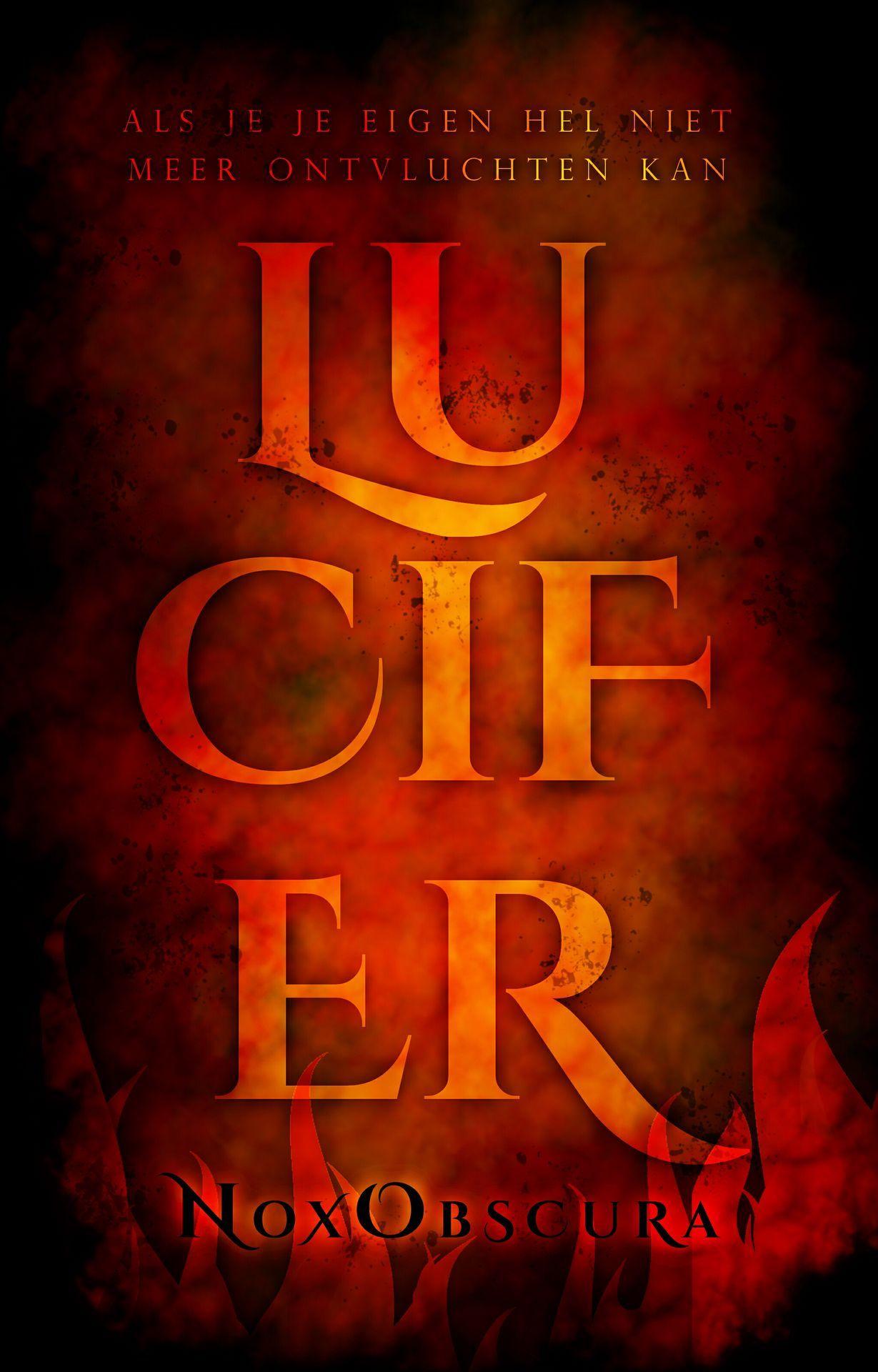 Ik vond het wel leuk om weer een cover in de stijl van Het duistere woud, Orador, Over wezenloze zielen en meer te maken dus hier is Lucifer voor NoxObscura!