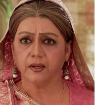 Being the elder one of the family she is a little strict that everybody should obey her and thus when Arnav or Advay go against her she feels very offended and is very afraid of their modern lifestyle