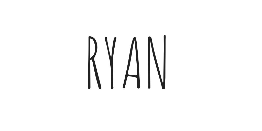 Ryan had doubled back to Bath & Body Works