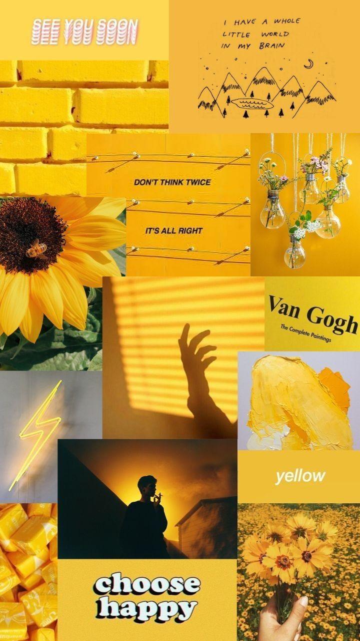 Wallpaper For Handphone Aesthetic Yellow Wattpad
