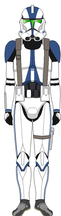 """Bones: """"Private Bones from the 501st Legion, I will be piloting the IFT-X tank, Charger"""