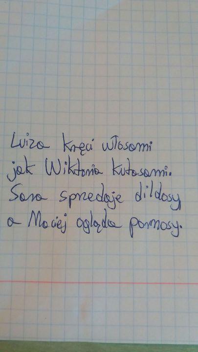 Nominacje Chorego Pojeba Twórczość Louise I Wierszyki