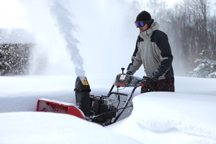 The snow blower consumption, the plow-shaped item that residences the auger, is 23 inches high and also can take in snow loaded up to 2 feet high