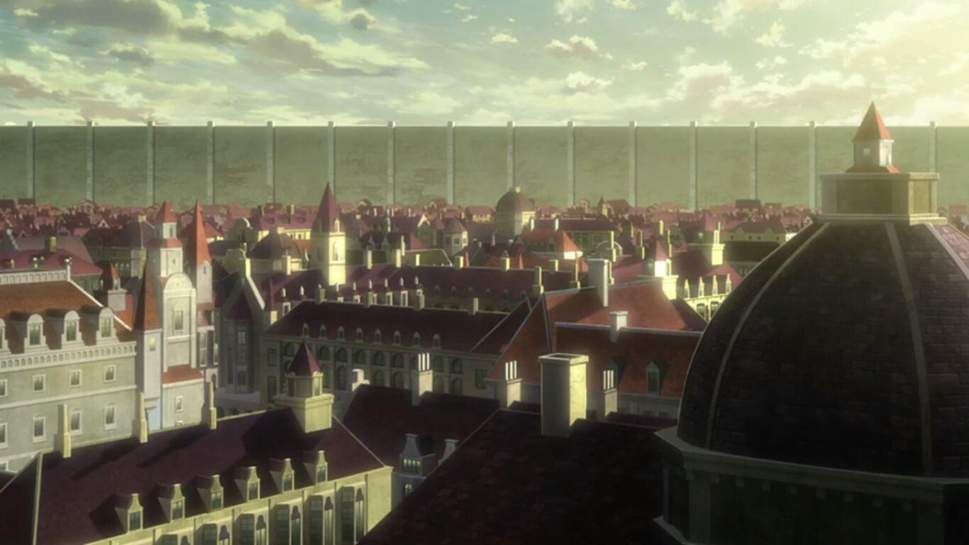 Αποτέλεσμα εικόνας για attack on titan town