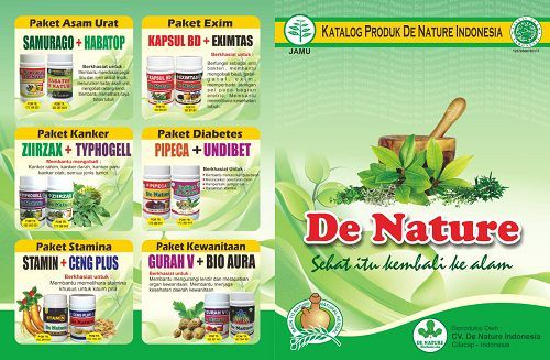 CATALOG OF NATURE TERBAR