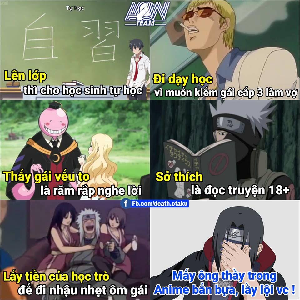 Truyện Ảnh Chế Anime