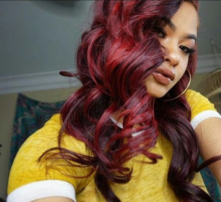ybnnahmir, amberrose and 306,009 others liked this post  twinszz: Nahmir got my hair red for my 17th bday ily bro and happy bday to me17094 comments
