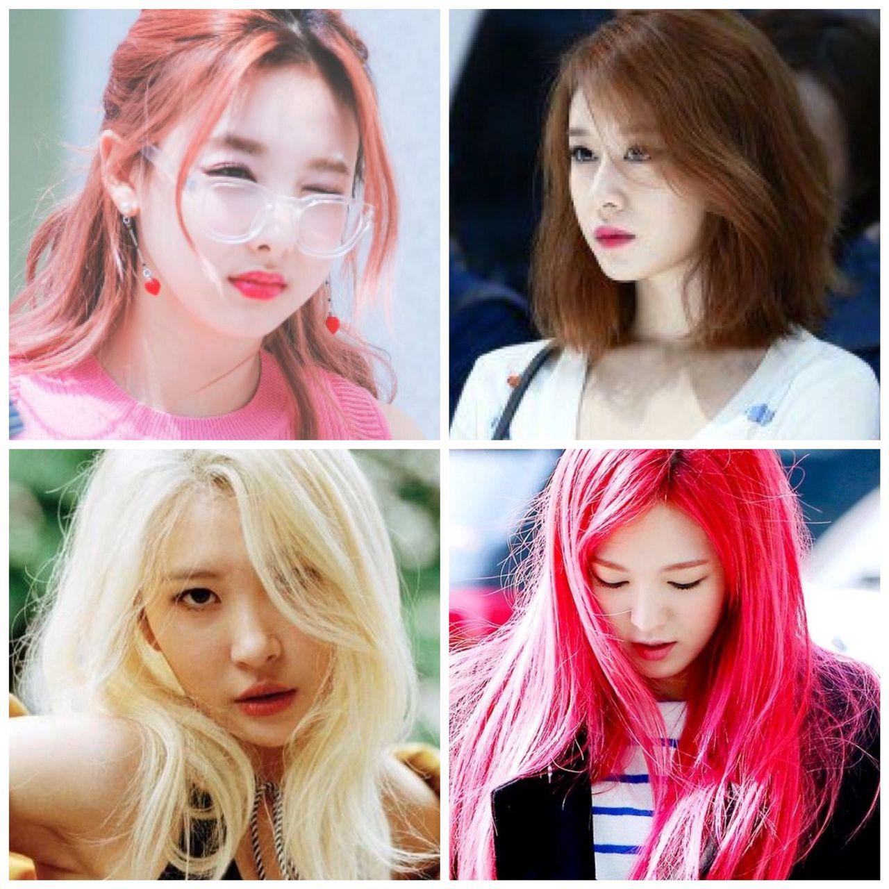 Topic: Kyungheehigh girls say no với tóc đen
